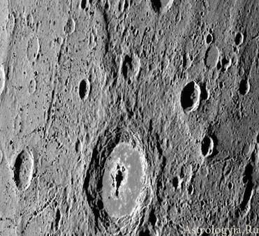 Лед на Меркурии