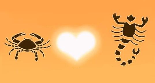 Совместимость знаков Мужчина-Рак и Женщина-Скорпион